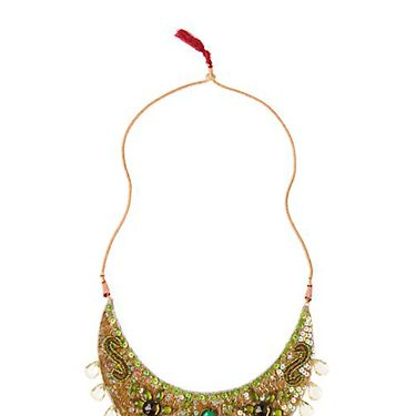 "$48&#x3B; <a href=http://www.anthropologie.com/ target=""_blank"">anthropologie.com</a><br /><br /> Make the right kind of statement with a bold necklace."