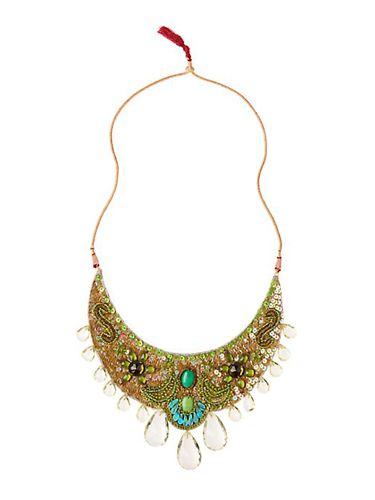 "$48; <a href=http://www.anthropologie.com/ target=""_blank"">anthropologie.com</a><br /><br /> Make the right kind of statement with a bold necklace."