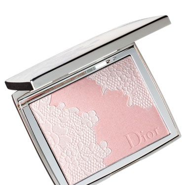 "<p>Swipe it all the way up your cheekbones. The ""lace"" makes your skin look luminous.</p>