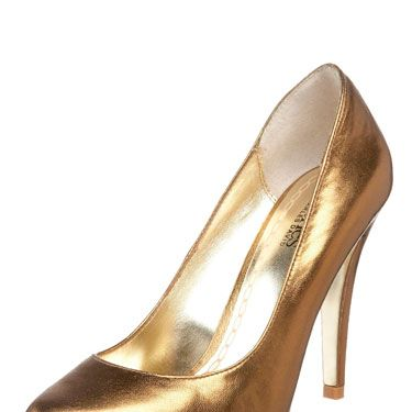 "Bronze Pompadour Pumps, <a href=""http://www.endless.com/Charles-David-Womens-Pompadour-Pump/dp/B002EQAFJO/"" target=""_blank"">Charles by Charles David</a>, $87.66"