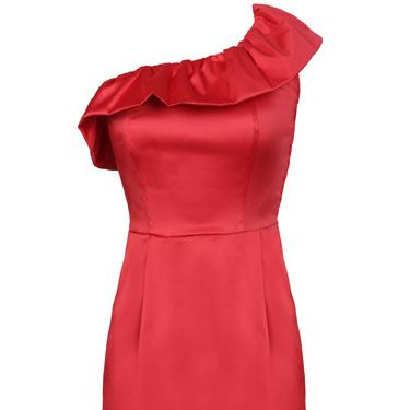 "<p>""When a girl shows off her shoulders it tells me that she's confident. This dress is classy and sexy all at once."" — Brad, 22</p>