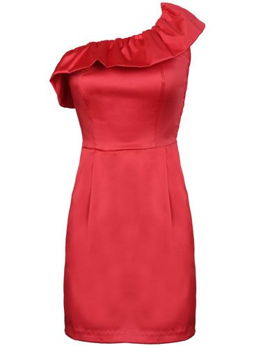 "<p>""When a girl shows off her shoulders it tells me that she's confident. This dress is classy and sexy all at once."" — Brad, 22</p>  <p><a  href=""http://www.lulus.com/products/divine-approval-dress-in-coral/21034.html"" target=""_blank"">Lulu's</a>, $33</p>  <p><b>Rating: Ridiculously Effing Hot</b></p>"