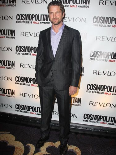 "The Scottish accent. The sexy scruff. The flirty sense of humor. Upon seeing Gerard Butler, one Cosmo staffer even whispered to another, ""Boyfriend? What boyfriend? I'm single tonight."""