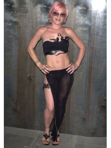 Pink celebrated her 22nd birthday practically in her birthday suit. And we