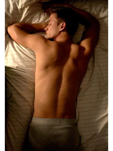 """<p><strong>His Personality Profile</strong>: This guy likes to be in control. """"That need doesn't stop just because he's asleep,"""" says Samuel Dunkell, MD, author of <i>Sleep Positions: The Night Language of the Body</i>. """"Covering the bed with his body is his way of controlling the space he's sleeping in."""" For similar reasons, this posture suggests that he's strong-willed. """"These men are usually focused and goal-oriented,"""" says Patti Wood, author of <i>Success Signals: A Guide to Reading Body Language.</i></p> <p><strong>The Sex He Craves</strong>: The facedown sleeper tends to be traditional…and he wants to get the job done. """"So it's likely he'll stick to the position that works for both of you,"""" says Wood. Avoid a rut by suggesting a new move now and then or pouncing on him when he least expects it.</p>"""