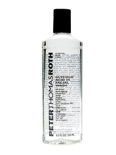 "<p>YOU SEE : A raised, white dot</p> <p>REACH FOR: <a href=""http://www.sephora.com/browse/product.jhtml?id=P3574&cm_mmc=us_search-_-GoogleBase-_-P3574-_-37341&_requestid=42976&ci_src=14110944&ci_sku=37341"" target=""_blank"">Peter Thomas Roth Glycolic Acid 3% Facial Wash</a>, $32. The gentle acid dissolves the buildup of dead skin that's blocking the pore.</p>"