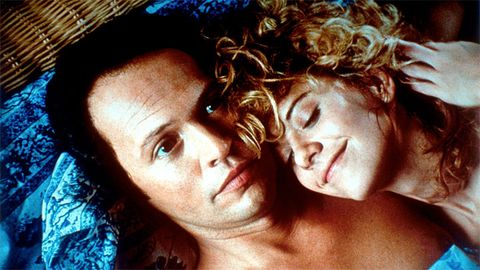 "Thanks to this Meg Ryan-Billy Crystal classic, many a girl has wondered if her totally platonic guy friend was worth a second look. And though the real-life answer is typically, um, no, there's something to be said for adding great sex to an already amazing friendship. Just be sure the timing is right and you both feel the same way— otherwise it could kill the friendship. Oh, and ""When you realize you want to spend the rest of your life with somebody, you want the rest of your life to start as soon as possible"" just might be the most romantic line of all time."
