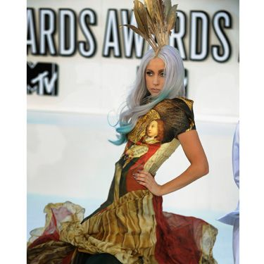 Who the hell could pull off this Alexander McQueen masterpiece besides Gaga? Not a rhetorical question&#x3B; the answer is <i>nobody</i>.