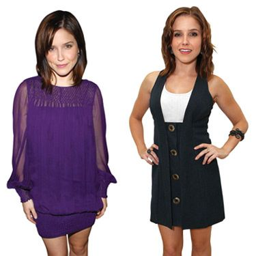 The purple dress