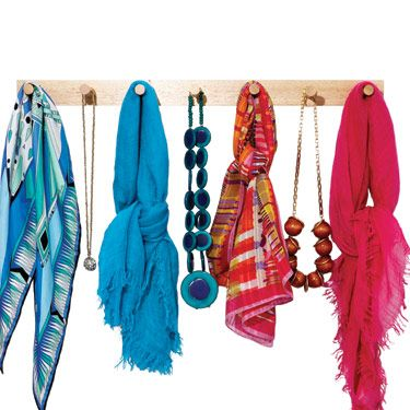 Instead of battling the scarf or necklace octopus that forms when you toss a bunch 