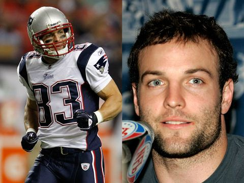 Whether you couldn't care less about the sport or head up the fantasy football league in your office, we know you'll enjoy checking out these fine athletic specimens. And while some people might judge you for choosing a favorite team based on the sexiness of a player, we never would. <br /><br /><b>Wes Welker, New England Patriots</b><br />The wide receiver might just be the hottest athlete in New England. Especially since his haircut in no way resembles Justin Bieber like a certain other member of the Pats.