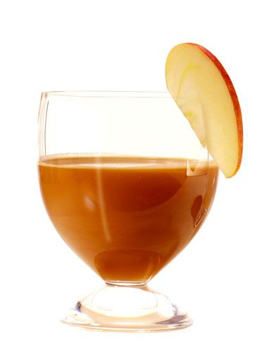 <p>1 oz. apple vodka<br /> ½ oz. coffee liqueur<br /> 1 oz. apple cider<br /> Splash of cream<br /> Garnish: apple slice</p>  <p>Mix all ingredients with ice in a shaker, and shake well. Strain into a glass. Garnish with slice of apple.</p>  <p><i>—The Water Club</i>, Atlantic City</p>