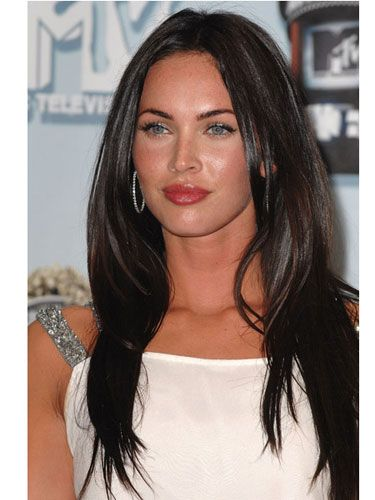 "<p><strong>Why Guys Love It</strong>: Every guy drools over Megan Fox for her smoking bod and luscious lips, but they'd also love to run their fingers through her smooth, shiny hair. ""Shine draws guys in because it's a sign of youth and vitality,"" adds Fisher.</p> <p><strong>How to Get It</strong>: Apply smoothing cream to damp hair. While blow-drying, use a medium-sized round brush and work from the bottom layers up. Pin the top portion out of your way and point the nozzle down to flatten the cuticle. When your mane is dry, mist on a thermal-straightening spray (the kind that heat activates, like John Frieda Full Repair Style Revival Heat-Activated Styling Spray, $8.99, <a title=""john frieda"" href=""http://www.amazon.com/JF-Full-Repair-Style-Spray/dp/B0073SBJPC/ref=sr_1_sc_1?s=hpc&ie=UTF8&qid=1336418896&sr=1-1-spell"" target=""_blank"">amazon.com</a>). Glide a flatiron over strands to kill any flyaways and seal in silkiness. Rake a tiny drop of shine serum through ends with your fingers for a superglossy movie-star finish.</p>"