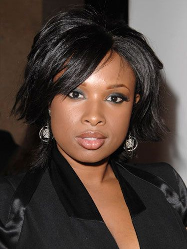 "<p><strong>Why Guys Love It</strong>: Jennifer Hudson shows off her neck and frames her face with this short bob. ""Short and choppy, the new bob accentuates your cheekbones and eyes,"" says celeb stylist Oscar Blandi.</p> <p><strong>How to Get It</strong>: Start with a protective styling spray to maintain shine like Got2b Guardian Angel Protect N' Blow Out Lotion and Gloss Finish, $5.99, <a title=""got 2 b"" href=""http://www.drugstore.com/products/prod.asp?pid=217740&catid=3562&aid=337953&aparam=got_2b_guardian_angel_42&CAWELAID=340374934"" target=""_blank"">drugstore.com</a>. Then, divide hair into two-inch sections and blow-dry straight. Finish by using a flat-iron to flip out your ends slightly.</p>"
