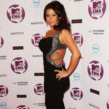 <i>The Girl With the Dragon Tattoo</i> has already been cast, JWoww, so no need to keep angling for the role.