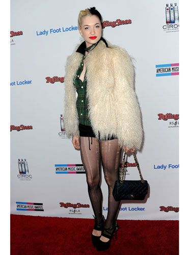 First a wild animal clawed at her legs then Porcelain punished that animal by turning it into a coat.
