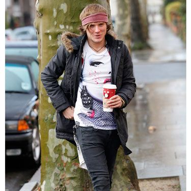 At this year's Hipster Olympics, he scored a perfect 10 in Extreme Skinny Jeans Wearing.