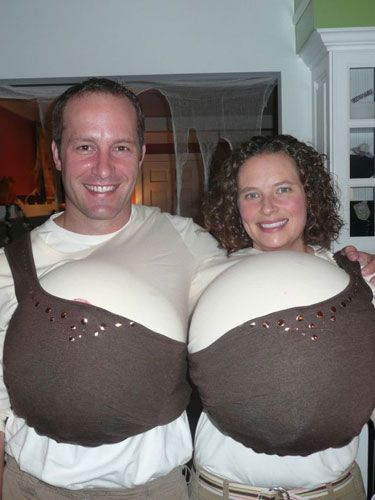This is easy to pull off, comfortable, creative, and includes a nip-slip! What more could you ask for in a costume?