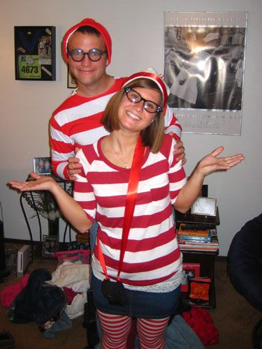 """<p><b>We asked Cosmo Radio listeners to send in pictures of their awesome (and awesomely bad) October 31st get-ups. Use them as inspiration...or just crack up at the ridiculousness. <br /<br />PLUS: Check out more <a href=""""http://www.esquire.com/the-side/style-guides/classic-halloween-costumes-2010"""" target=""""_blank"""">couples Halloween costumes</a> inspired by movies! </b></p><br><p><b>Waldo and Wenda</b></p><p>The best part is that at the party, this couple hid in the background of all the photos so people would have to search for them in the pics later!</p>"""
