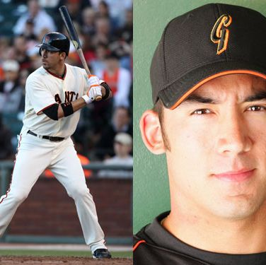 Here's some motivation to go to baseball games: He met his now-wife (a dental assistant) the first time he took to the field for the Giants.
