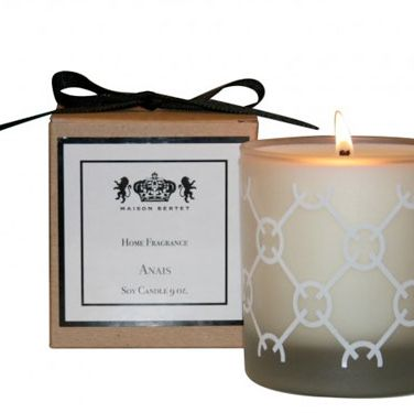 "February 14th falls on a Monday this year (ugh), but light this tropical-smelling candle and you'll forget all about work for a few hours. (<a href=""http://maisonbertet.com/decor-accessories/home-fragrance/anais-candle.html"" target=""_blank"">Maison Bertet, $22</a>)"