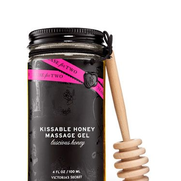 "There are two ways to use this edible (and non-sticky) stuff: drizzle it on each other's bodies and trade massages, or drizzle it on each other's bodies and lick it off. Either way, the night is ending with ridiculously hot sex. (<a href=""http://www.victoriassecret.com/ss/Satellite?ProductID=1289994789765&c=Page&cid=1265365312633&pagename=vsdWrapper"" target=""_blank"">Victoria's Secret, $15</a>)"