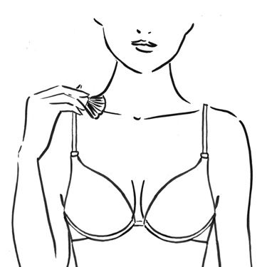 Now brush the light