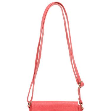 This cute little saddle bag will brighten up any outfit. 