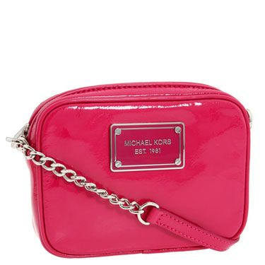 Every girl's gotta have some hot pink in her wardrobe—carry this mini for a pop of color.