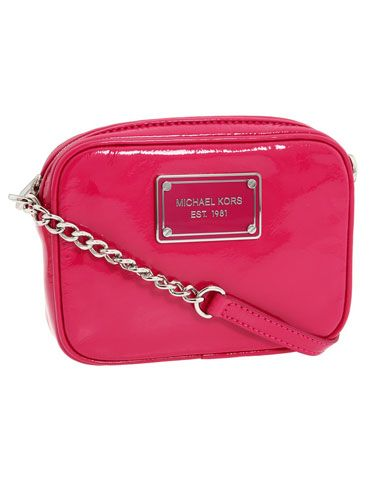 "Every girl's gotta have some hot pink in her wardrobe—carry this mini for a pop of color.  <br /><br />MICHAEL Michael Kors Jet Set bag, $118, <a href=""http://shop.nordstrom.com/s/michael-michael-kors-jet-set-crossbody-bag/3151455?origin=category&resultback=341""target=""_blank"">nordstrom.com</a>"