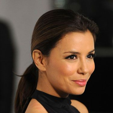 """This style isn't just for working out anymore. You can wear a pony with pretty much everything. Just make sure it's either super-sleek (like Eva Longoria's version show here) or has lots of volume at the crown. Check out <a href=""""http://www.cosmopolitan.com/hairstyles-beauty/beauty-blog/voting-oscars-hairstyles-022811"""">Reese Witherspoon at the Oscars</a> for inspiration.   <br /><br /><b>Time commitment</b>: 8 seconds"""