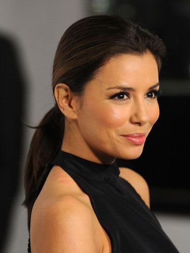 "This style isn't just for working out anymore. You can wear a pony with pretty much everything. Just make sure it's either super-sleek (like Eva Longoria's version show here) or has lots of volume at the crown. Check out <a href=""http://www.cosmopolitan.com/hairstyles-beauty/beauty-blog/voting-oscars-hairstyles-022811"">Reese Witherspoon at the Oscars</a> for inspiration.   <br /><br /> <b>Time commitment</b>: 8 seconds"