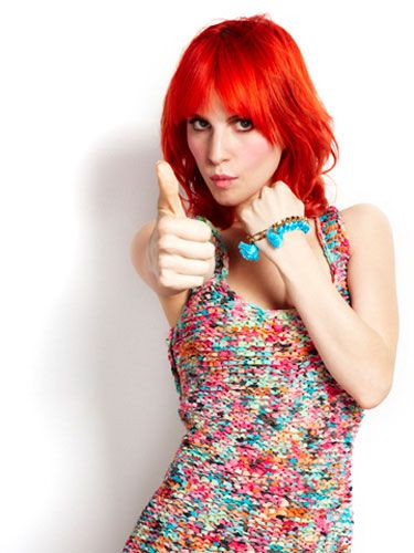 """Thumbs up is exactly what thousands and thousands of <a href=""""http://www.facebook.com/Cosmopolitan"""" target=""""_blank"""">Facebook fans</a> are giving the May cover. (Seriously, when Paramore posted about Hayley being on Cosmo, it got over 33,000 """"likes""""!)"""