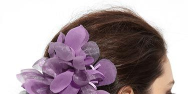 """You could make this regal-hued accessory even more royal by clipping it closer to your face.    <br /><br /> Cara Accessories 'Tropical Flower' Hair Clip, $36, <a href=""""http://shop.nordstrom.com/s/cara-accessories-tropical-flower-hair-clip/3147933?origin=keywordsearch&resultback=235 <http://shop.nordstrom.com/s/cara-accessories-tropical-flower-hair-clip/3147933?origin=keywordsearch&resultback=235""""target=""""_blank"""">nordstrom.com</a>"""
