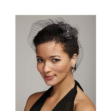 An embellished black blusher is anything but innocent.