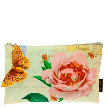 This makeup pouch is super-pretty—and she'll always be able to find her lipstick in her purse. 