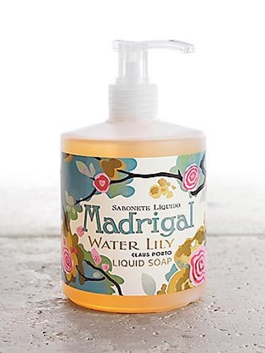"""Not only does this soap smell amazing, it won't dry out Mom's mitts—and it looks great in the bathroom. <br /><br /> Madrigal Liquid Hand Soap by Claus Porto, $20, <a href=""""http://www.cambriacove.com/gifts/by-price/-50-and-under/madrigal-liquid-hand-soap-by-claus-porto/77c309c116p1234/index.pro""""target=""""_blank"""">cambriacove.com</a>"""