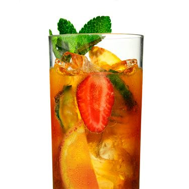 <p>Prince Harry only dates girls who drink this libation. OK, that might not be true, but Pimm's Cup <i>is</i> a favorite in his family. And it's the perfect sip to serve at a royal wedding viewing party.</p><p>Combine 8 ounces Pimm's No. 1 Cup (available at liquor stores) and 24 ounces chilled lemon-lime soda. Add some mint sprigs, a handful each of cucumber, orange, and strawberry. Mix in a pitcher filled with ice. (Served eight.)</p>
