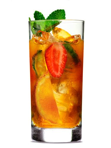 <p>Prince Harry only dates girls who drink this libation. OK, that might not be true, but Pimm's Cup <i>is</i> a favorite in his family. And it's the perfect sip to serve at a royal wedding viewing party.</p> <p>Combine 8 ounces Pimm's No. 1 Cup (available at liquor stores) and 24 ounces chilled lemon-lime soda. Add some mint sprigs, a handful each of cucumber, orange, and strawberry. Mix in a pitcher filled with ice. (Served eight.)</p>