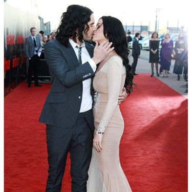 There must be something in the Hollywood water this week. Because celeb couples like Russell Brand and Katy Perry, Emma Roberts and Chord Overstreet, and even the typically private RPattz and Kristen Stewart all shared seriously intimate smooches in public this week. Don't get a room, guys! We love witnessing your love!