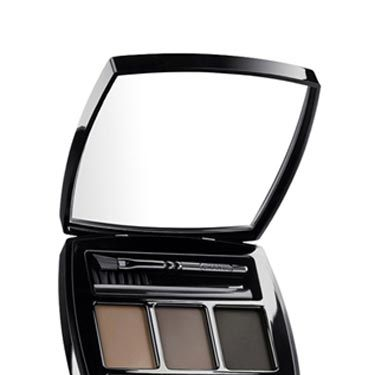 You can use a powder to make your brows look lighter or darker, depending on your hair color, what you're wearing and the thickness you're going for. This set is a major splurge, but you get three shades, brushes and tweezers. <br /><br />