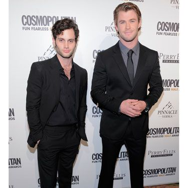 "When <i>Gossip Girl</i>'s Penn Badgley and <i>Star Trek</i>'s Chris Hemsworth were photographed, every woman in the room was wishing the invitation read, ""Dress code for males: shirtless."""