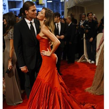 """<p>At the Met Gala, Gisele was overheard saying of Tom Brady, """"I love him no matter what. Short, bald, fat. It's all good.""""</p><p>(All over the world short, bald, fat guys are suddenly wondering if they might have a chance with the supermodel.)</p>"""