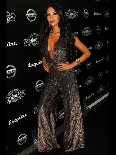 """The invite to this VMA after-party must have read, """"<i>Jersey Shore</i> Attire Required""""."""