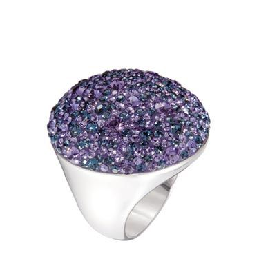 A giant, colorful cocktail ring is so much fun—perfect if she doesn't have big bling of her own.<br /><br />