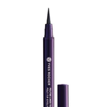 """Liquid liner can be tricky, which is why a marker-like version is our go-to. <br /><br />Yves Rocher Felt Tip Liner, $8, <a href=""""http://www.yvesrocherusa.com/control/makeup/eye-pencils-liners/felt-tip-liner-12h/?cmSrc=Category""""target=""""_blank"""">yvesrocherusa.com</a>"""