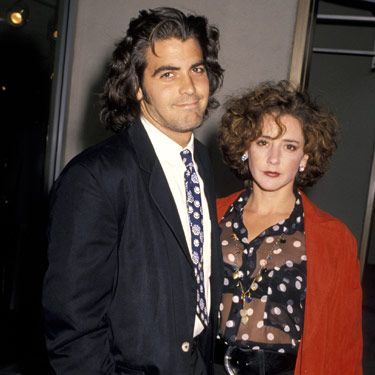"Just a few months after splitting from Kelly, actress Talia Balsam and George got hitched in Vegas. Sounds like she might have put the pressure on George. He later revealed, ""I wasn't someone who should have been married at that point. I just don't feel like I gave Talia a fair shot."""
