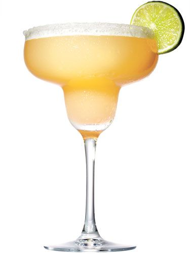 ½ cup of mango sorbet<br /> 1 oz. Absolut Mango<br /> 1 oz. Tequila<br /> 1 Tbsp. freshly squeezed lime juice<br /> Garnish: lime slice<br /> <br /><br /> <p>Blend the sorbet with the vodka, tequila, and lime juice for 30 seconds. Pour the mixture into a margarita glass, and garnish with slice of lime.</p> <br /> <p><em>Source: Jacob Andres, SolToro Grill at Mohegan Sun, Uncasville, Connecticut</em></p>