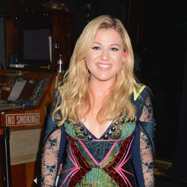 Kelly Clarkson, engaged to Brandon Blackstock.