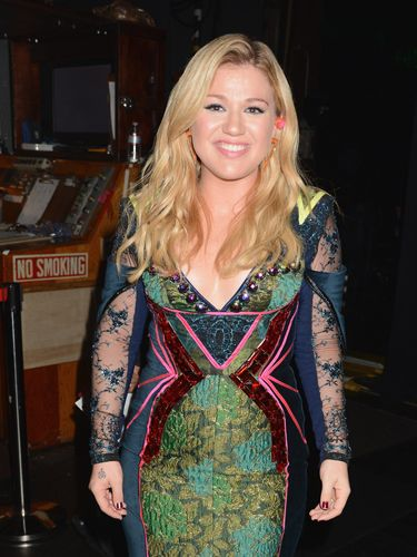 Kelly Clarkson, engaged to Brandon Blackstock.